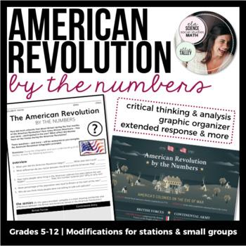 American Revolution | Infographic Analysis & More!
