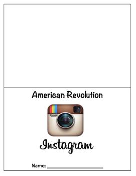 American Revolution Instagram Booklet