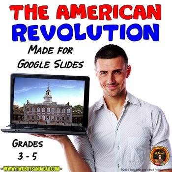 American Revolution Interactive Digital Notebook for Google Drive®