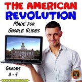 American Revolution Interactive Digital Notebook for Googl