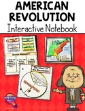American Revolution & Revolutionary War Interactive Notebook 5th Grade