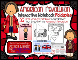 American Revolution Interactive Notebook Foldables MEGA Packet