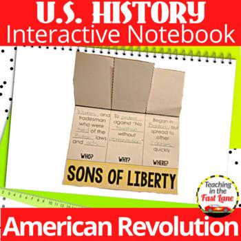 American Revolution Interactive Notebook Kit