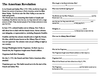 american revolution interactive notes ss by cammie 39 s corner tpt. Black Bedroom Furniture Sets. Home Design Ideas