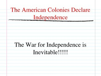 American Revolution (Introduction) Root Causes