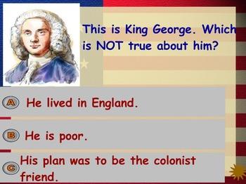 American Revolution Jeopardy Game