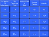 American Revolution Jeopardy Powerpoint