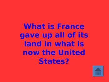 American Revolution Jeopardy SS4H4