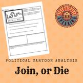 American Revolution - Join, or Die Analysis