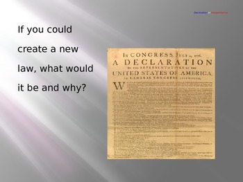 American Revolution: Essential Journal Questions/Powerpoint
