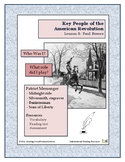 American Revolution - Key People Lesson 8 - Paul Revere
