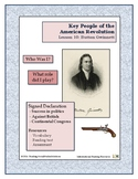 American Revolution - Key People Lesson 10 - Button Gwinnett