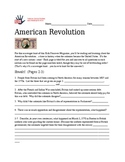 American Revolution--Kids Discover Activity