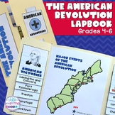 American Revolution Lapbook/Interactive Notebook for Upper