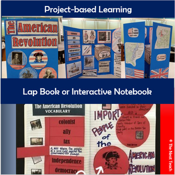 American Revolution Lapbook and Interactive Notebook Foldables