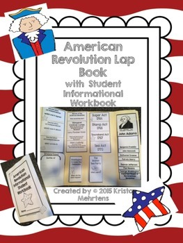 American Revolution Lapbook with an Informational Student Workbook