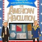 American Revolution Lapbook/Interactive Notebook - Grades 4-8