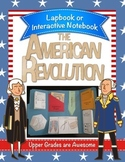 American Revolution Lapbook/Interactive Notebook - Grades 4-8