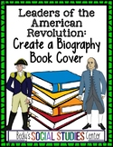 American Revolution Leaders - Create a Biography Book Cover