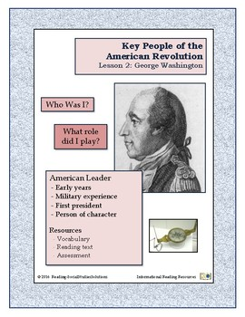 American Revolution - Key People Lesson 2 - George Washington