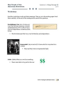 American Revolution - Key People Lesson 1 - King George