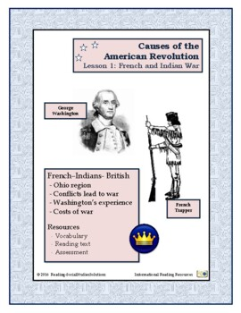 American Revolution - Causes Lesson 1 - French and Indian War