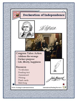 American Revolution - Declaration of Independence