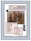 American Revolution - Battles