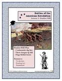 American Revolution - Battles  Lesson 3 - Bunker Hill