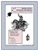 American Revolution - Battles  Lesson 1 - Lexington