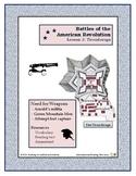 Ticonderoga - Revolutionary War Battles -  Lesson 2