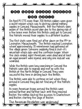 American Revolution Lesson Plan