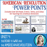 American Revolution Lesson PowerPoints