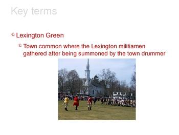 American Revolution - Lexington and Concord
