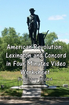American Revolution: Lexington and Concord in Four Minutes