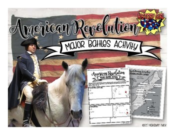 American Revolution Major Battles Activity