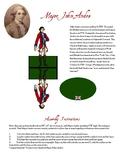 American Revolution: Major John Andre Paper Figure