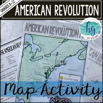 13 Colonies Map Activity Geography & Worksheets | TpT