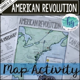 American Revolution Map Activity