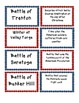 American Revolution Matching - Vocab, Important People, Ba