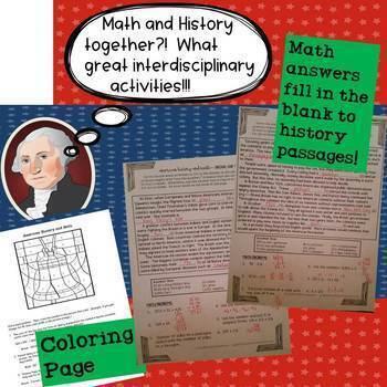 American Revolution Math Activities