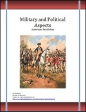 American Revolution Military and Political Aspects Differentiated Lesson