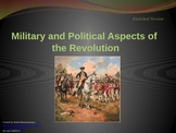 American Revolution Military and Political Aspects Differentiated PowerPoint