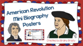 American Revolution Mini Biography Posters