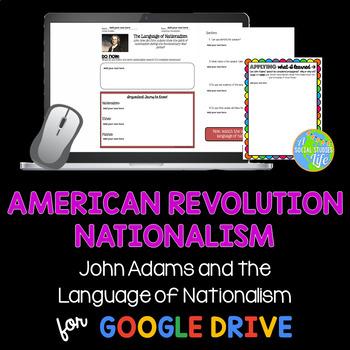American Revolution Nationalism