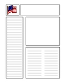 American Revolution Newspaper Template
