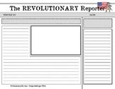 American Revolution Newspaper Template