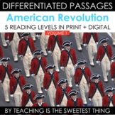 American Revolution: Passages (Vol. 1) - Distance Learning Compatible
