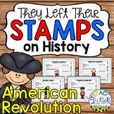 American Revolution Famous People Research Project Templates for Grades 3-5