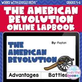 American Revolution ONLINE Interactive Notebook - Distance